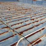 屋根の塗装/自宅の屋根のさび落とし・上塗塗装を自分でやる